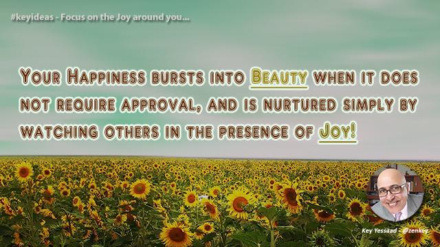 Focus on the Joy around You