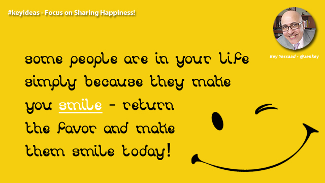 Focus on Sharing Happiness!