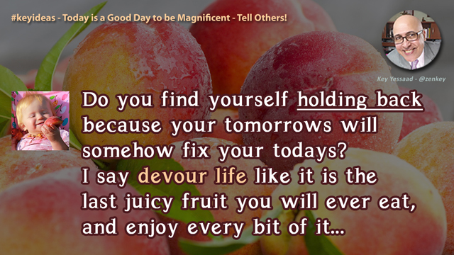 Today is a Good Day to be Magnificent - Tell Others!