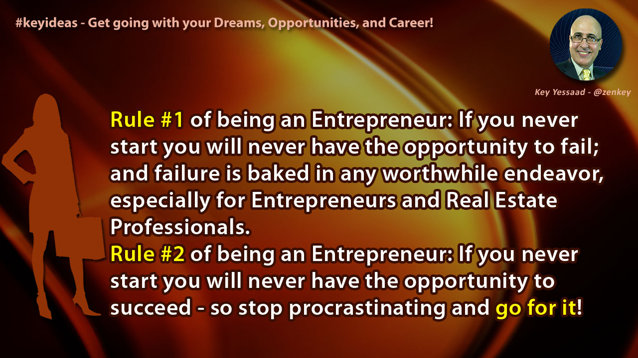 Get going with your Dreams, Opportunities, and Career!