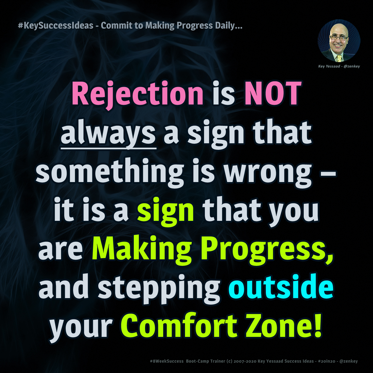 Commit to Making Progress Daily... - #KeySuccessIdeas