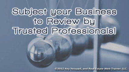 Subject your Real Estate Business to Review