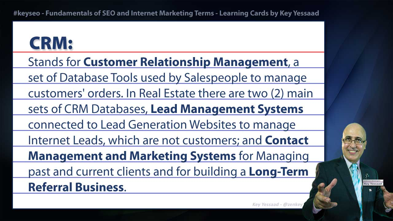 CRM - Internet Marketing and SEO Glossary
