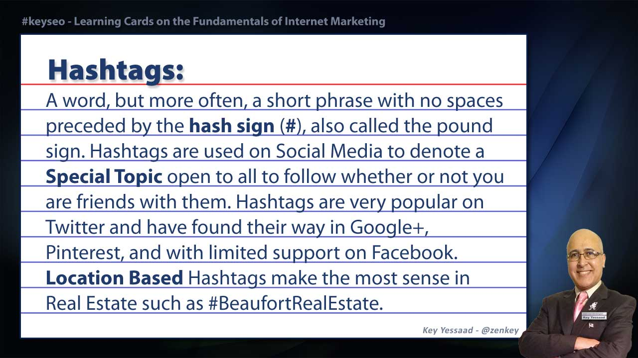 Hashtag - Real Estate SEO Short Definition