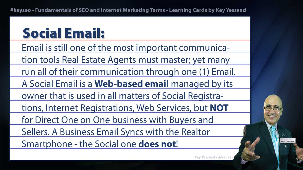 Social Email - Internet Marketing and SEO Glossary