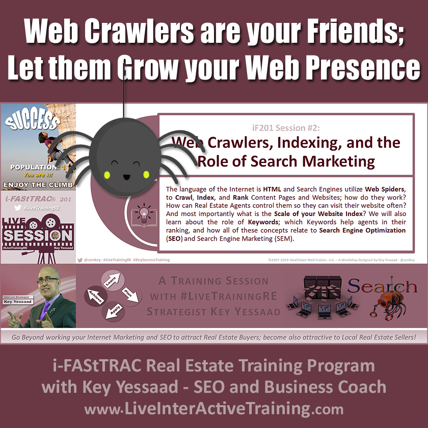 Web Crawlers are your Friends