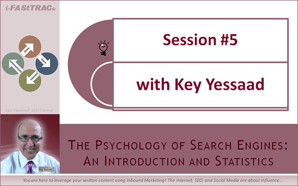 Session #5 - Search Psychology