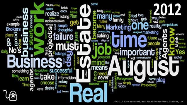 August 2012 Words Cloud from Thoughts of The Day
