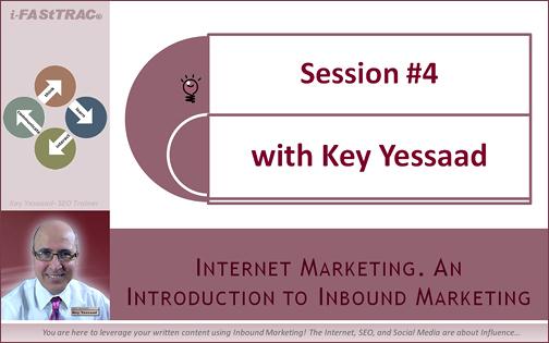 Session 4 Inbound Marketing
