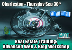 Charleston SC Real Estate Advanced Web and Blog Workshop