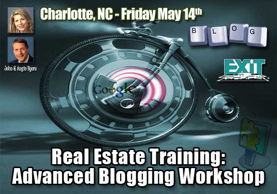 Charlotte NC Real Estate Advanced Blogging Workshop