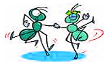 An Ant is small but its relationships are strong