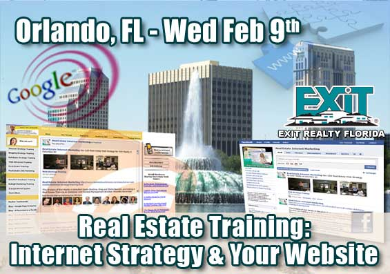 Orlando Real Estate Internet Strategy Training