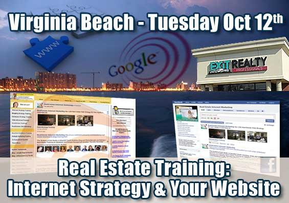 Virginia Beach Real Estate Internet Strategy Training